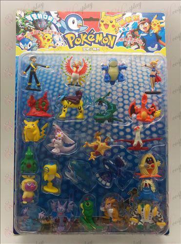 24, Accesorios Pokemon (Blister 3)