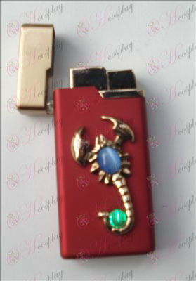 Scorpion gem lighter (red)
