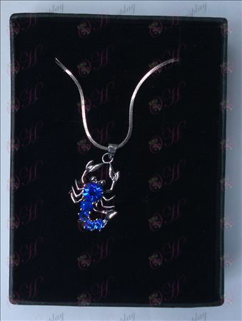 Saint Seiya Accessories Scorpion Necklace (Blue) Halloween Accessories Buy Online