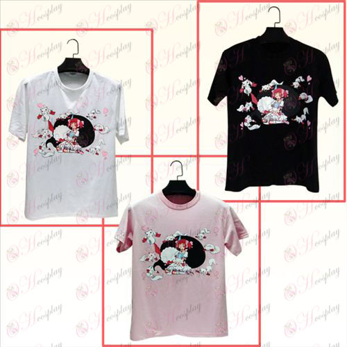 Pequeña camiseta redonda 01