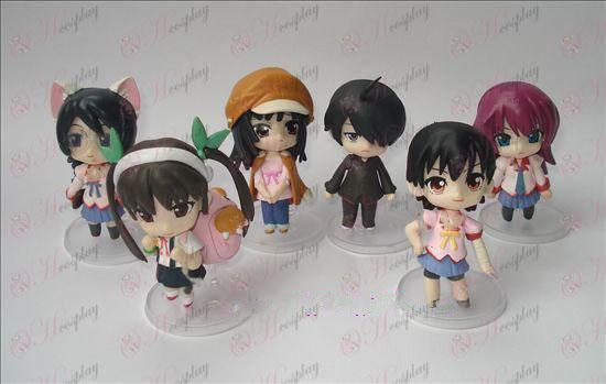 A generation of 6 Monogatari Accessories doll cradle