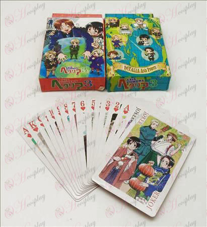 Axis Powers Accessories Poker