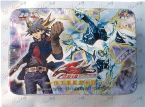 Estaño genuino Yu-Gi-Oh! Accesorios Tarjeta (arroyo día de clase Star Dragon Group)