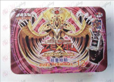 Estaño genuino Yu-Gi-Oh! Accesorios Tarjeta (sobrepeso iniciar)