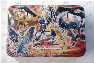 Estaño genuino Yu-Gi-Oh! Accesorios Card (tarjeta de grupo de Nacimiento Mundial sin)