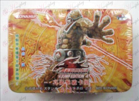 Estaño genuino Yu-Gi-Oh! Accesorios Card (tarjeta de cierto grupo de ruptura inflamación)