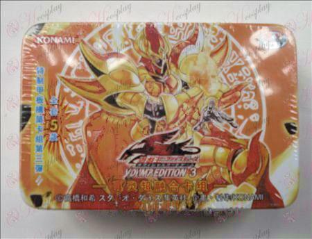 Estaño genuino Yu-Gi-Oh! Accesorios Card (Tarjeta verdadero super grupo inflamación ATM)