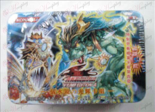 Estaño genuino Yu-Gi-Oh! Accesorios Card (tarjeta de Miriam grupo brillante espejismo)
