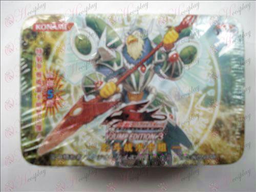 Estaño genuino Yu-Gi-Oh! Accesorios Card (lucha de la espada grupo de tarjetas tácticas)