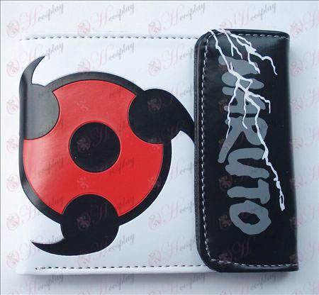 Naruto write round eyes snap wallet (Jane)