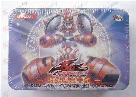 Estaño genuino Yu-Gi-Oh! Accesorios Card (tarjeta de un grupo de combate Huang)