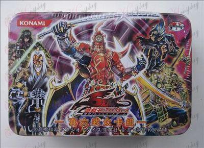 Estaño genuino Yu-Gi-Oh! Accesorios Tarjeta (Verdadero Six Samurai cubierta)