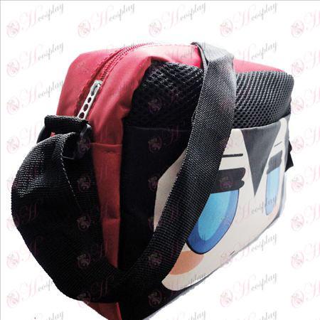 Falta rock shooter Accesorios embarazosos pequeña bolsa de nylon rojo
