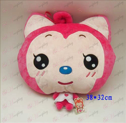 2 # Ali Accessories Plush Shou Wu (small round eyes and Rose)