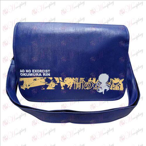 77-02 Messenger Bag Blue Exorcist Accessories