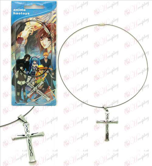 Sin cross necklace crown