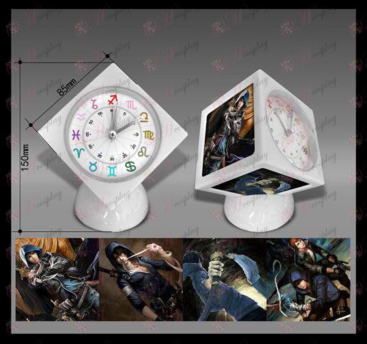 Daomu Accessories Cube Alarm Clock