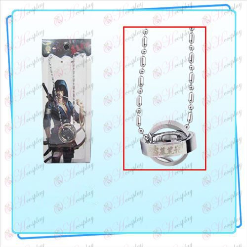 Daomu Accessories Dual Ring Necklace (Silver)