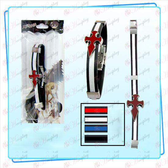 Sword Art prihlásený Príslušenstvo klan Knights remienok na ruku