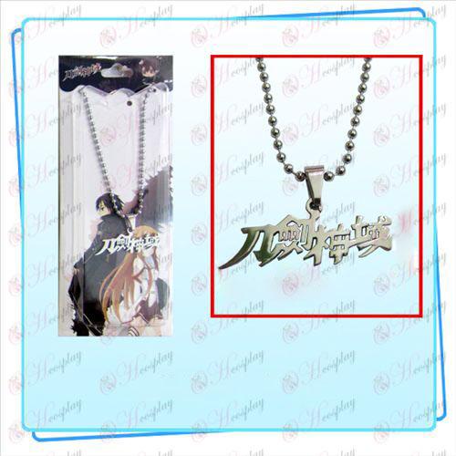 Sword Art prihlásený Príslušenstvo korálek náhrdelník