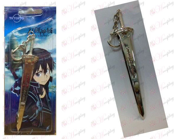 Sword Art Online Accessories-big sword - Silver