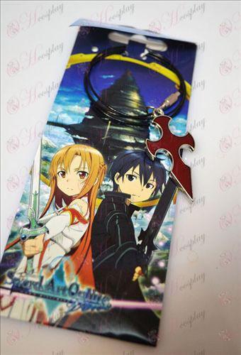 Sword Art Online Accessories Cross Necklace (Red) Halloween Accessories Buy Online