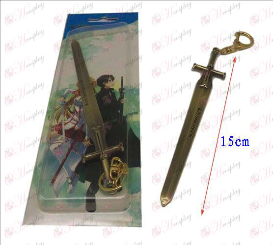 Sword Art Online Accessories knife buckle 2 (Bronze)