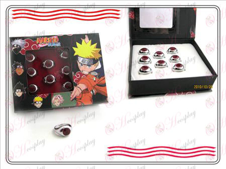 Naruto Xiao Organization boxed (empty) words ring