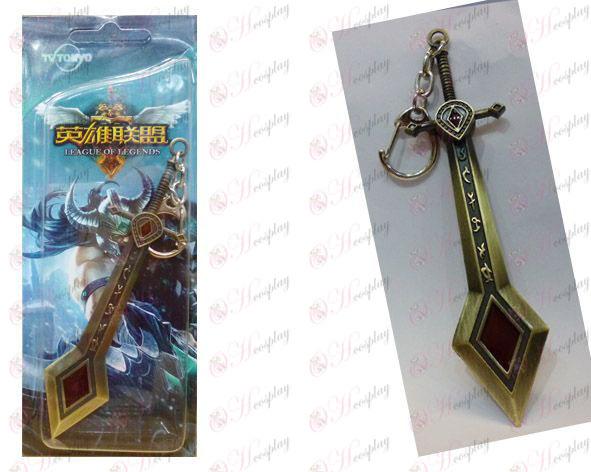 League of Legends Accesorios de juicio ángeles rebeldes - bronce