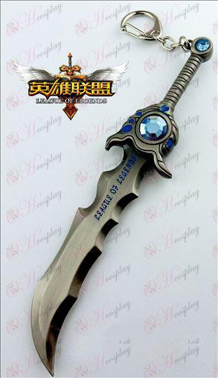 League of Legends Accesorios bárbaro rey de armas (pistola de color)