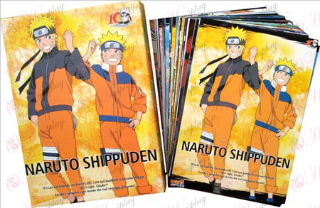 Naruto Postcard + Card 6 Naruto Halloween Accessories Online Store