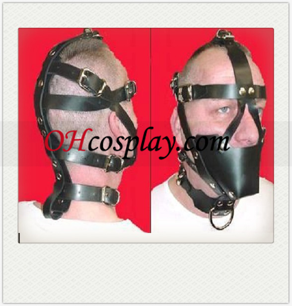 Classic Black Male SM Latex Mask