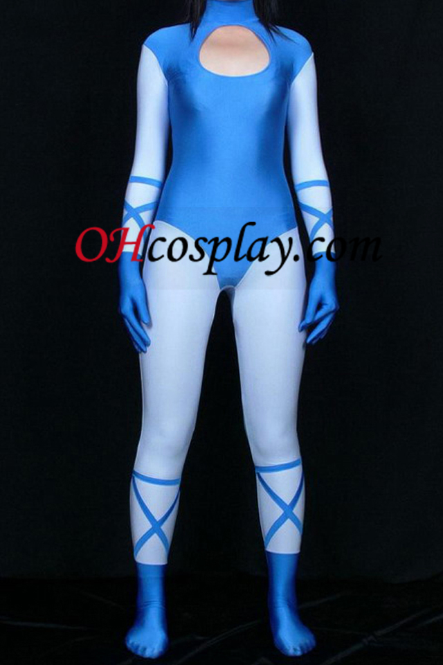 Cosplay Stil Multi-Colored Lycra Spandex Zentai Suit