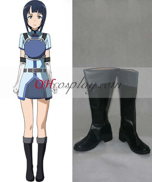 Disfraces espada Arte Online Sachi (Saori Hayami) Cosplay Zapatos