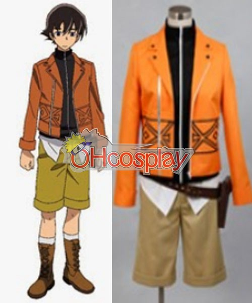 Mirai Nikki (Future Diary Kostymer) Amano Yukiteru Cosplay Kostymer