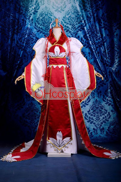 Reservoir Chronicle Costumes Sakura Deluxe Kimono Tsubasa Cosplay Costume
