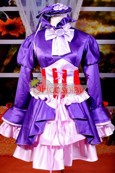 Shugo Chara Kostymer Tsukiyomi Utau Performance Cosplay Kostymer