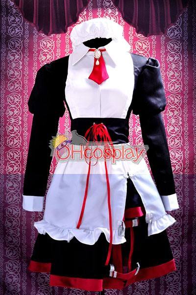 Umineko no Naku Koro ni Costumes Shannon maid cosplay costume