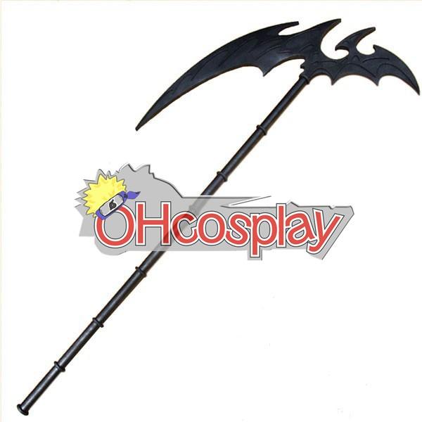 ヴァンパイア騎士衣装黒須結城アルテミスコスプレ武器