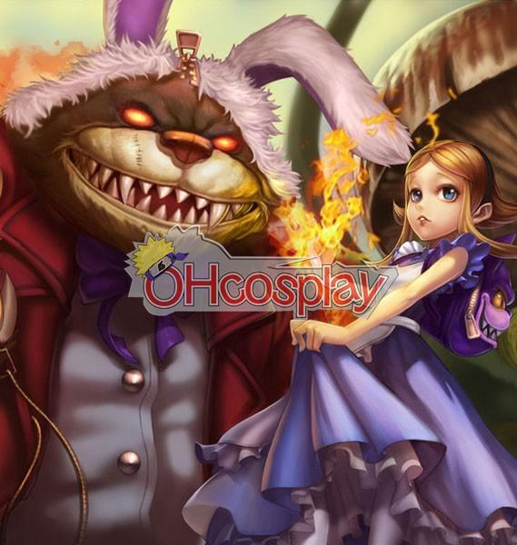 Disfraces League of Legends Annie In Wonderland Traje Cosplay Piel