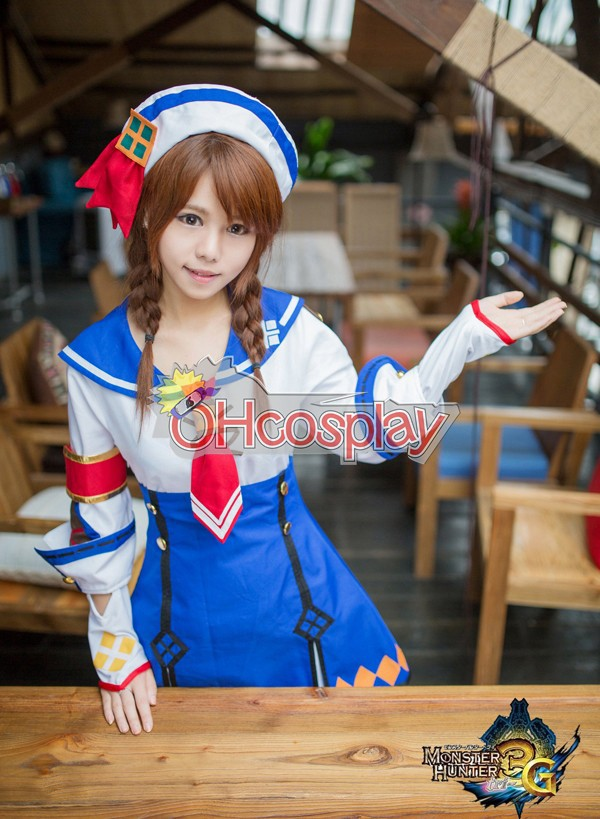 Monster Hunter Costumes 3G Female Cashier Cosplay Costume