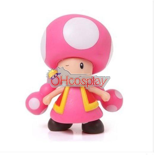 Super Mario Costumes Bros Mushroom Princess Model Doll