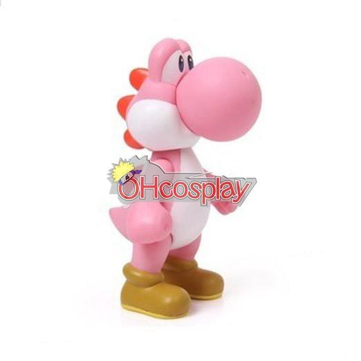Super Mario Costumes Bros Pink Dinosaur Model Doll