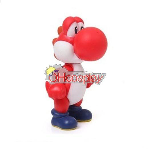 Super Mario Costumes Bros Red Dinosaur Model Doll
