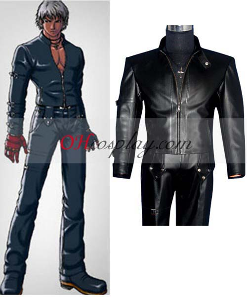 The King of Fighters' 98 K Cosplay Costume(Only Jacket with our text on back)