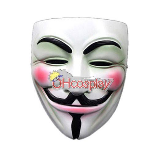 V for Vendetta Cosplay Máscara original