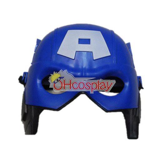 Máscara Capitán América Cosplay
