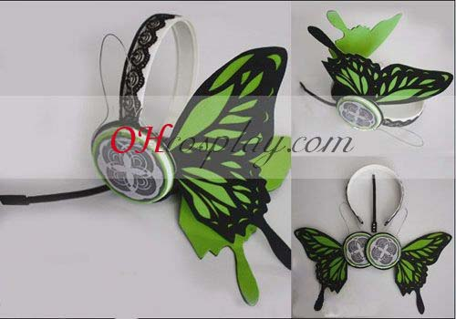 Vocaloid Luca Copslay Emerald Headset Prop Verde