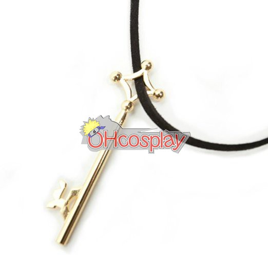 Attack on Titan Costumes Eren Key of the Basement Cosplay Necklace