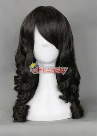 Universal EuropeStyle Negro 50cm peluca Wave-324B